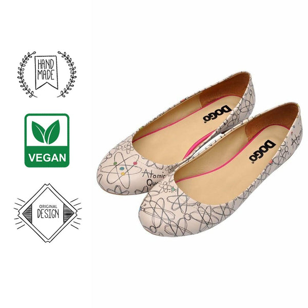 Atomic Queen Women's Ballet Flats Shoes