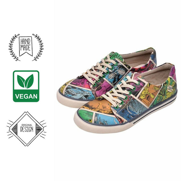 Zombie Attack DOGO Women's Sneakers