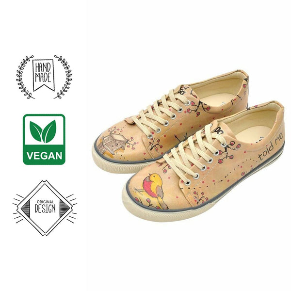 A Little Bird Told Me DOGO Women's Sneakers