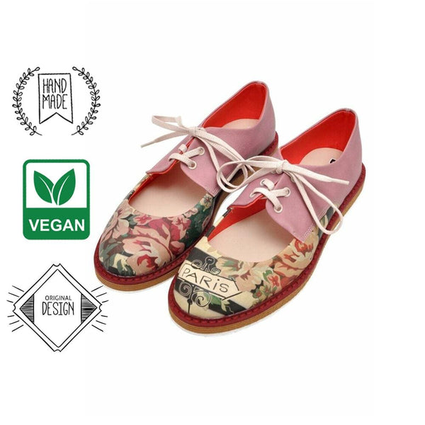 Vintage Flowers DOGO Women's Flat Shoes