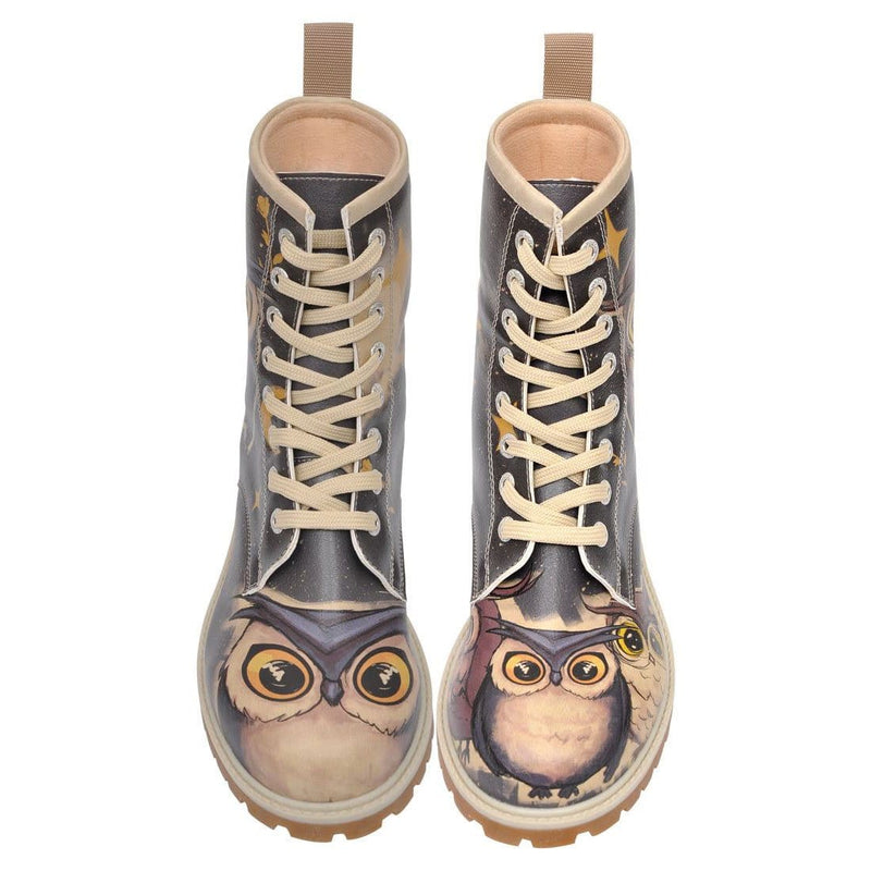DOGO_Owls_Family_Long_Boots_Women_Shoes_3