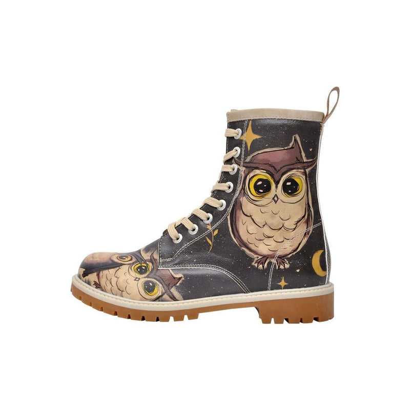 DOGO_Owls_Family_Long_Boots_Women_Shoes_1