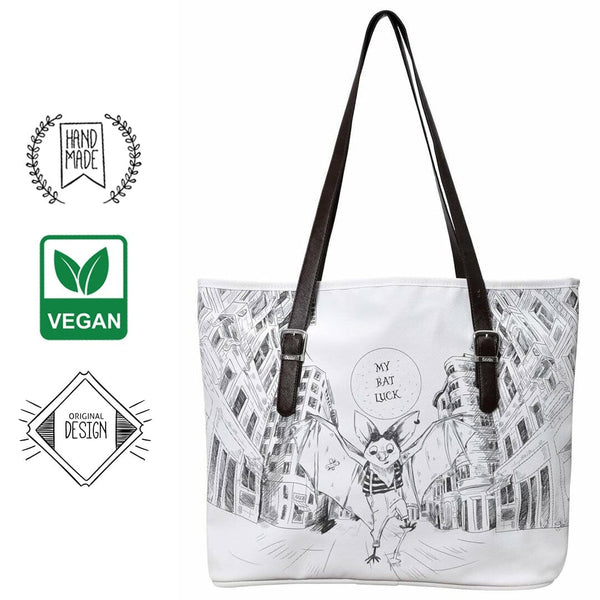 My Bat Luck DOGO Women's Shoulder Bag