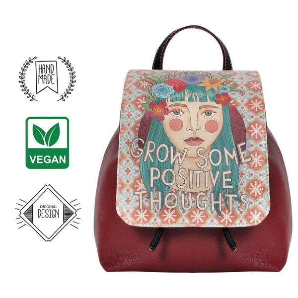 Positive Thoughts DOGO Women's Backpack