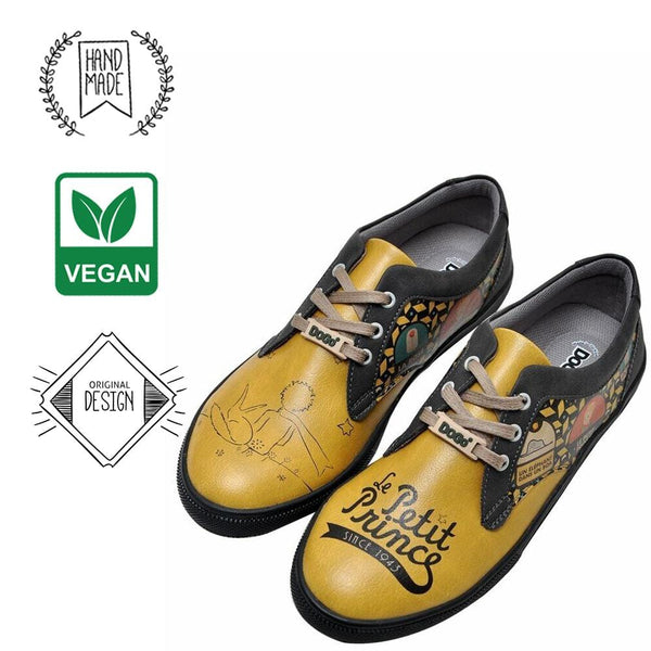The Yellow Side of Me Le Petit Prince DOGO Women's Flat Shoes