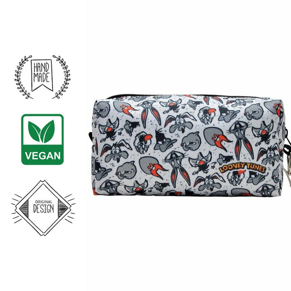 All in Grey Looney DOGO Stationery Pouch Bag