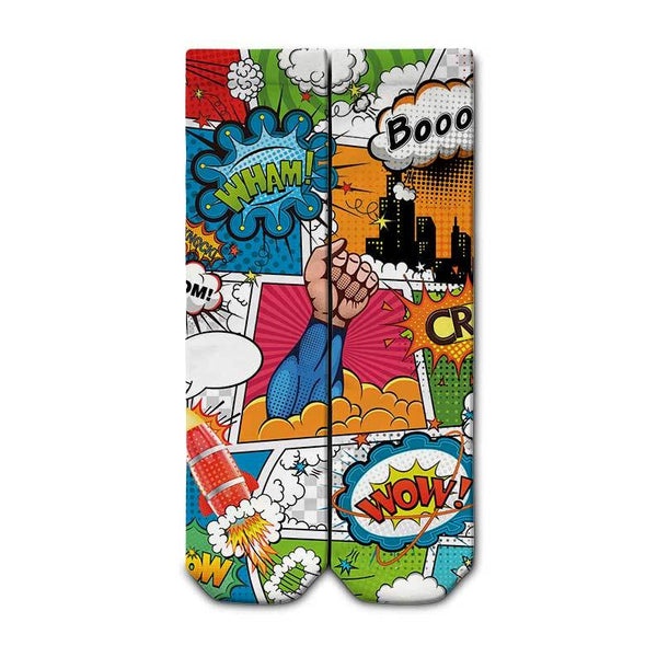 Booom Crew Socks