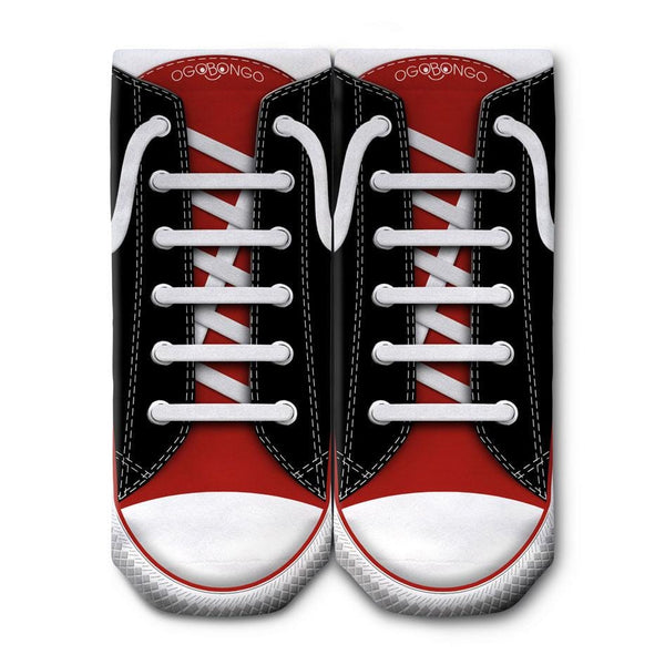 OGOBONGO_Black_Red_Shoe_Ankle_Socks_1