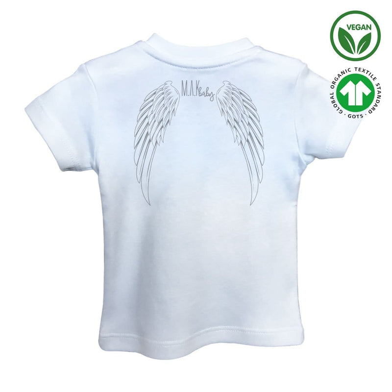 BE LOVELY Organic Aegean Cotton Unisex Baby T-shirt