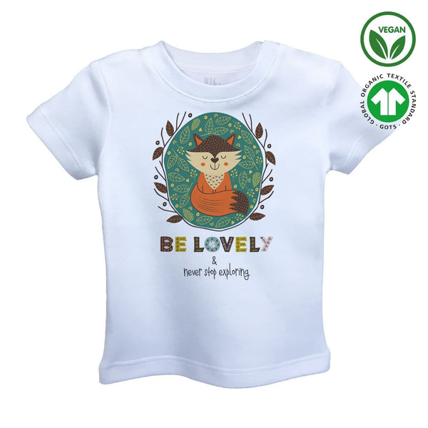 BE LOVELY Organic Aegean Cotton Unisex Kids T-shirt