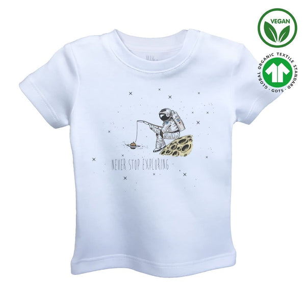 PLANET ANGLING Organic Aegean Cotton Unisex Kids T-shirt