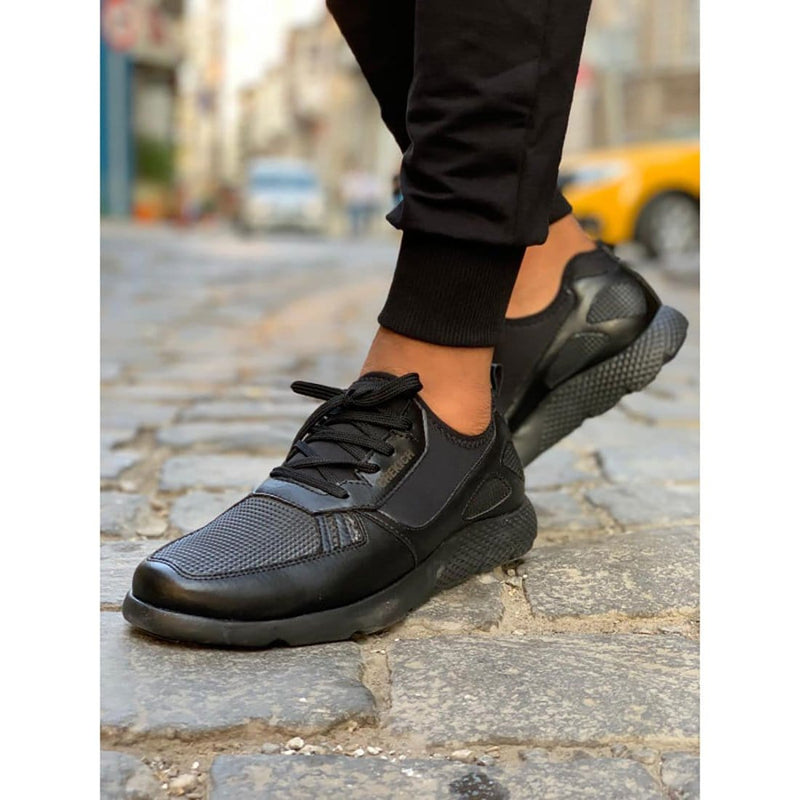 Black Sole Men's Shoes Black