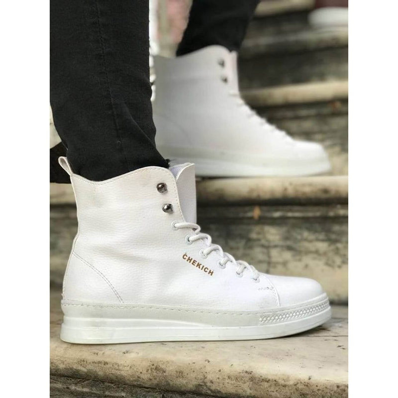 White_Skin_White_Sole_Men's_Boot_3