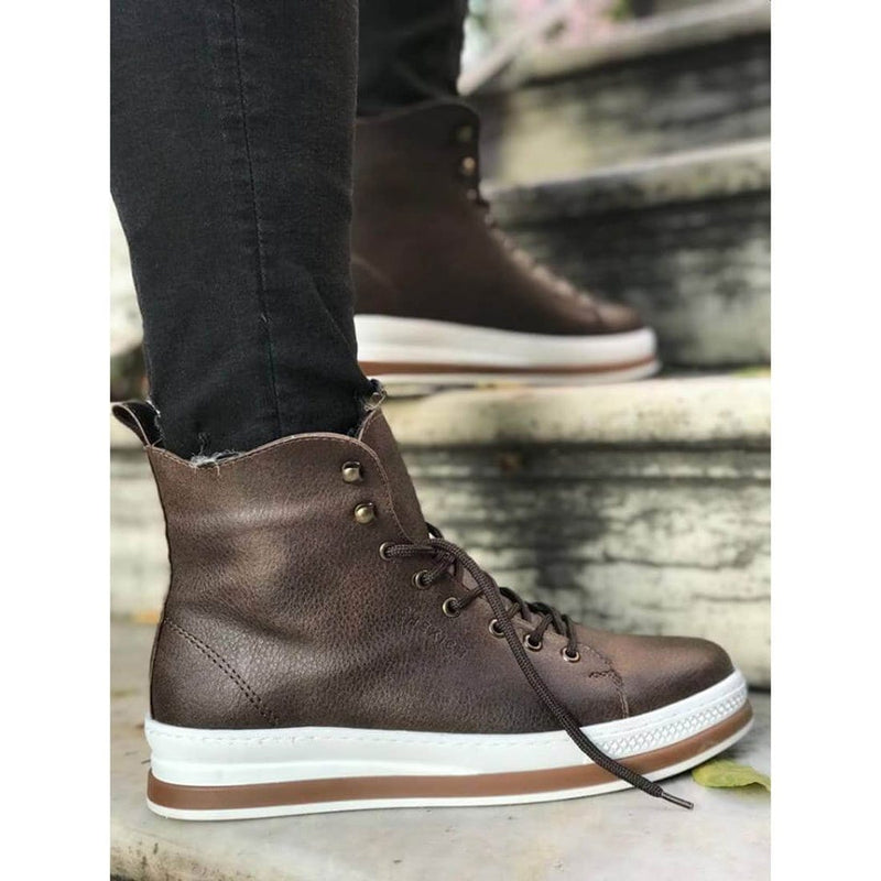Brown_Skin_White_Sole_Men's_Boot_3