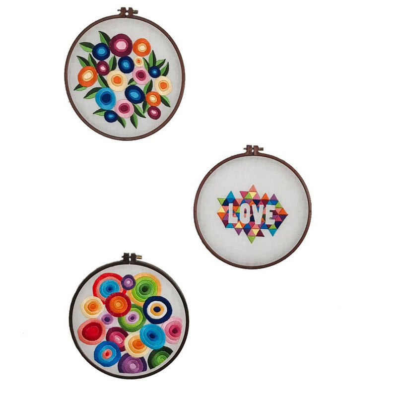 Love Embroidery Hoop