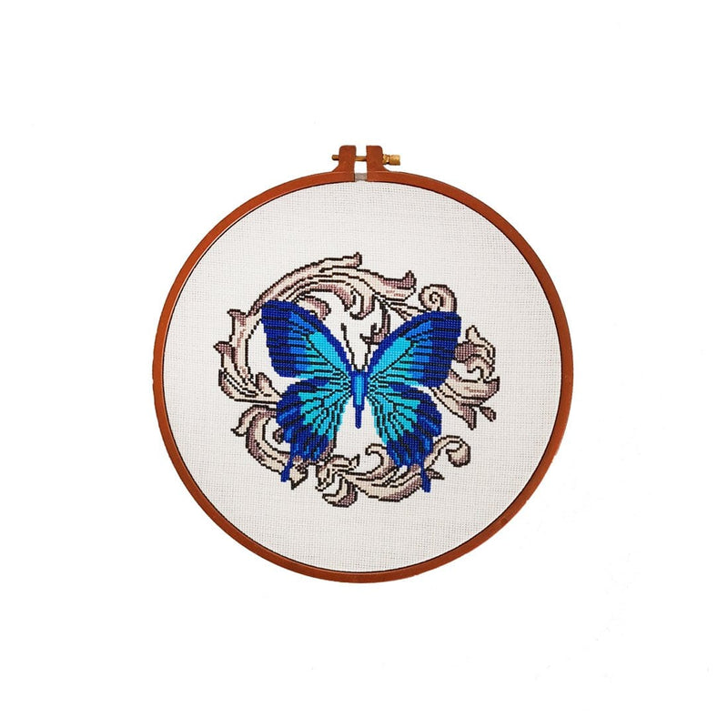 Butterfly Embroidery Hoop