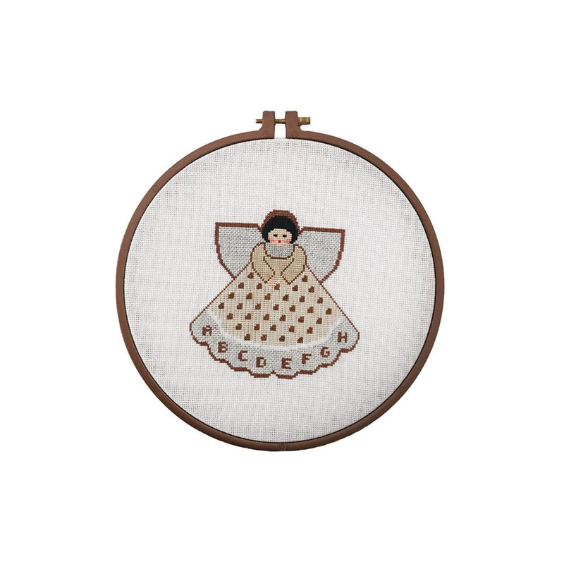 Angel Embroidery Hoop