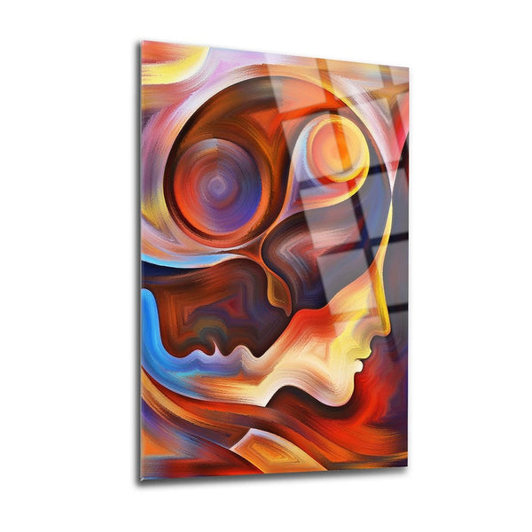 Soulmate Glass Print Wall Art