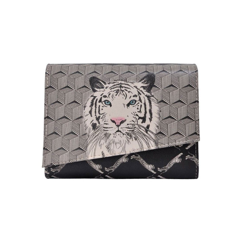 Tiger DOGO Women's Box Clutch Purses image 2
