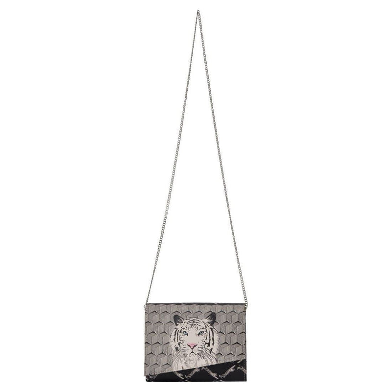 Tiger DOGO Women's Box Clutch Purses image 5