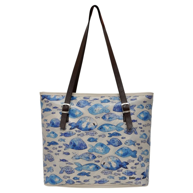 Watercolor Fish DOGO Women's Shoulder Bag image 3