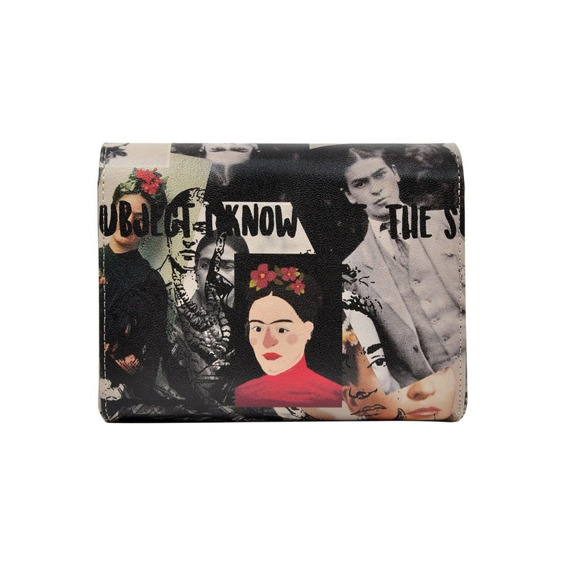 I Paint Flowers DOGO Women's Box Clutch Purses image 1