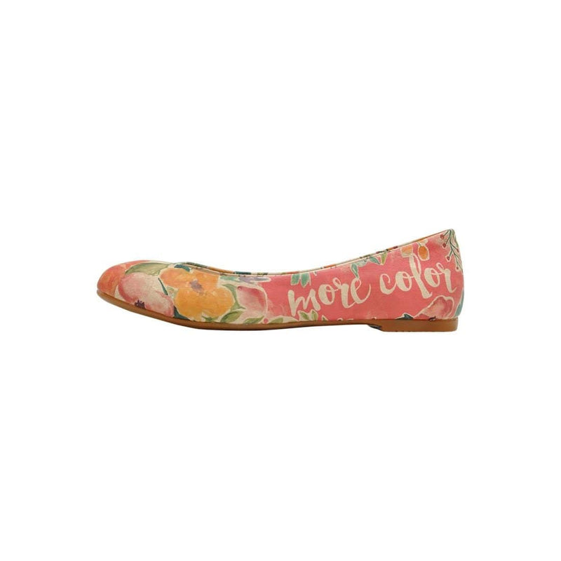 I Need More Color In My Life Women's Ballet Flats Shoes image3