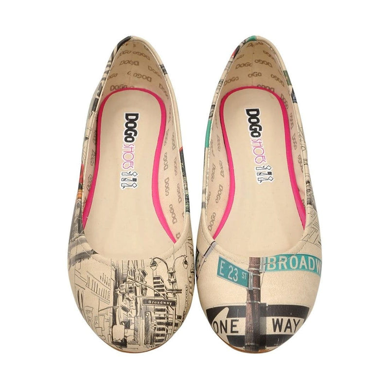 Broadway Nyc Women's Ballet Flats Shoes image2