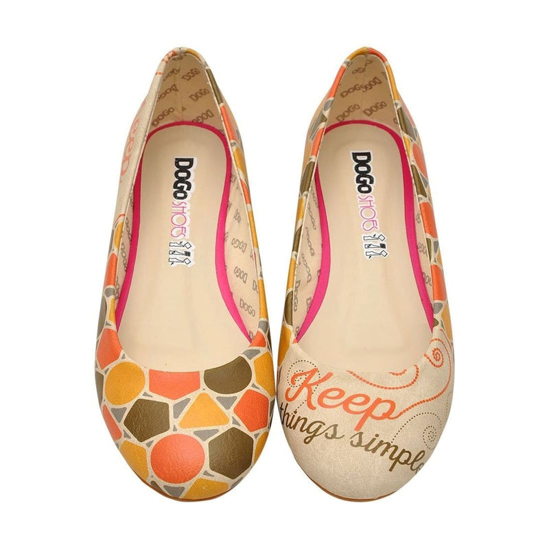 Keep Things Simple Women's Ballet Flats Shoes image2