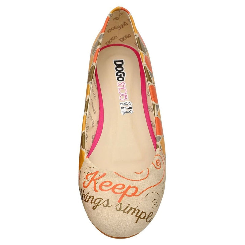 Keep Things Simple Women's Ballet Flats Shoes image5