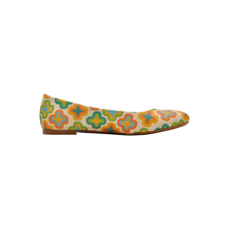 Old Motif Women's Ballet Flats Shoes image4