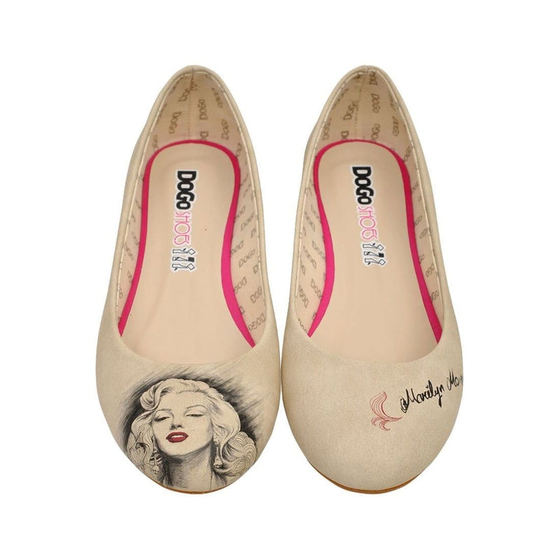 Marilyn Monroe Women's Ballet Flats Shoes image2