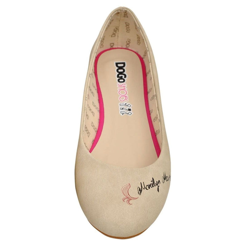 Marilyn Monroe Women's Ballet Flats Shoes image3