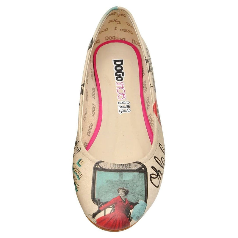 Lets Get Lost in Paris Women's Ballet Flats Shoes image5