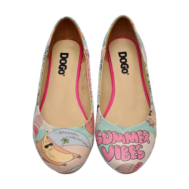 Summer Vibes Women's Ballet Flats Shoes image2