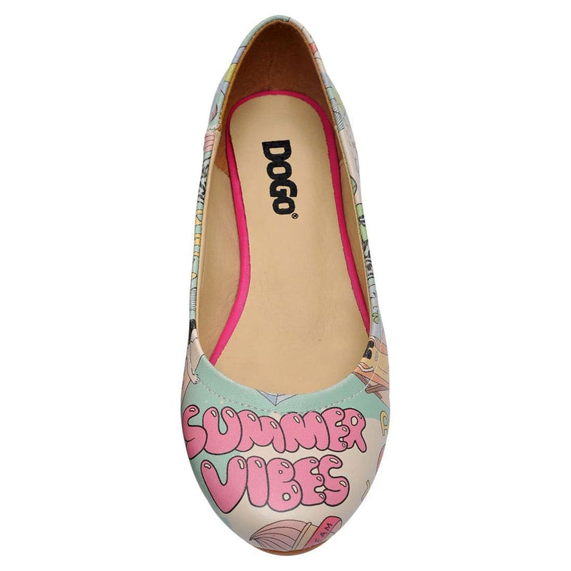 Summer Vibes Women's Ballet Flats Shoes image5