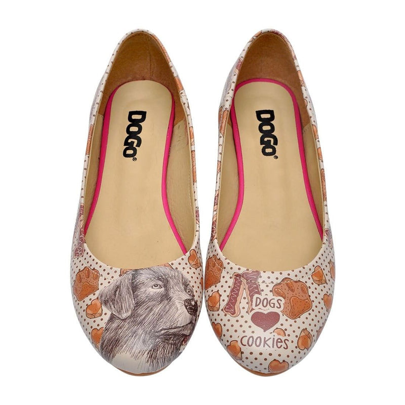 Dogs & Cookies Women's Ballet Flats Shoes image2