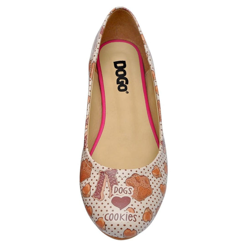 Dogs & Cookies Women's Ballet Flats Shoes image5