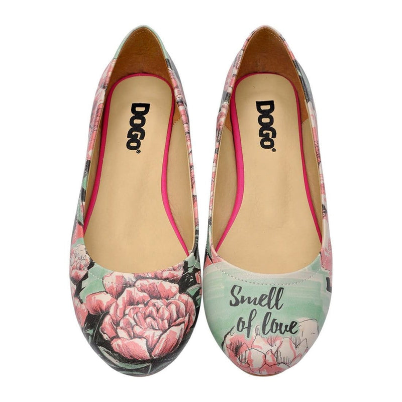 Smell Of Love Women's Ballet Flats Shoes image2