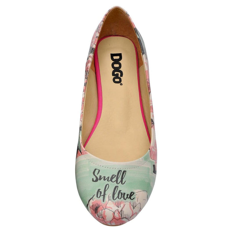 Smell Of Love Women's Ballet Flats Shoes image5