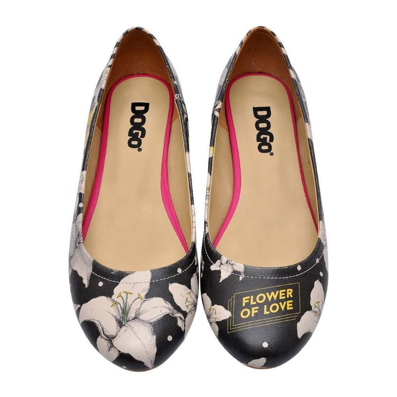 Flower Of Love Women's Ballet Flats Shoes image2