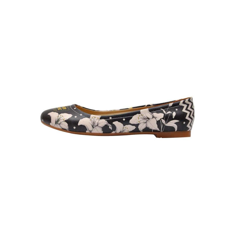 Flower Of Love Women's Ballet Flats Shoes image3