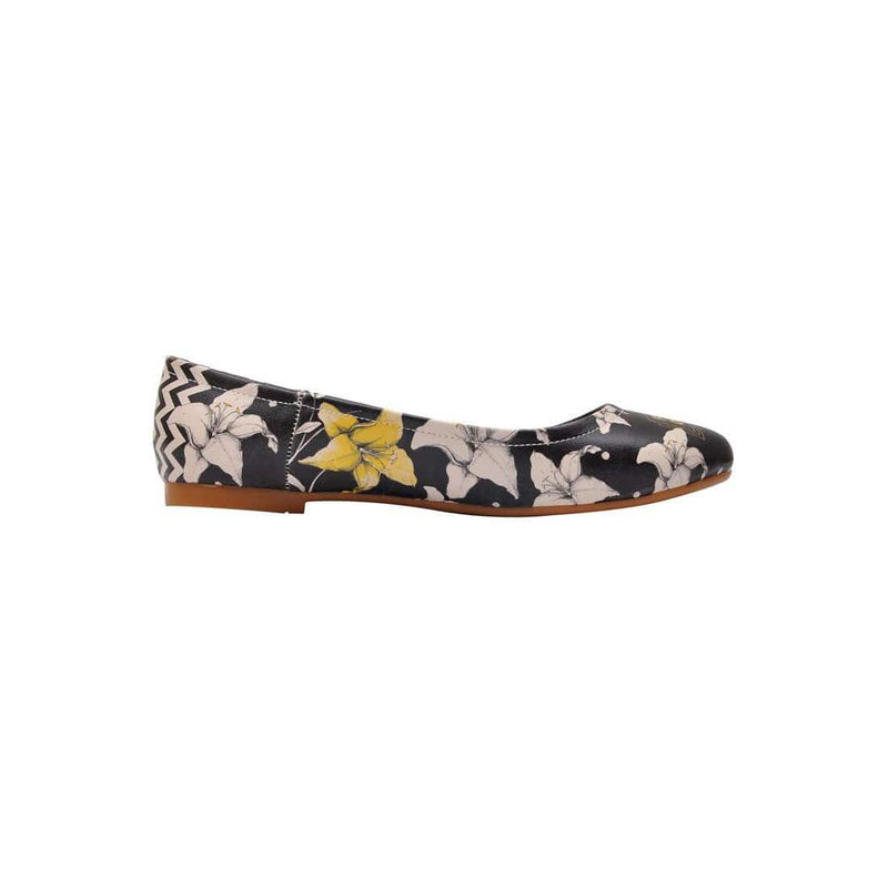 Flower Of Love Women's Ballet Flats Shoes image4
