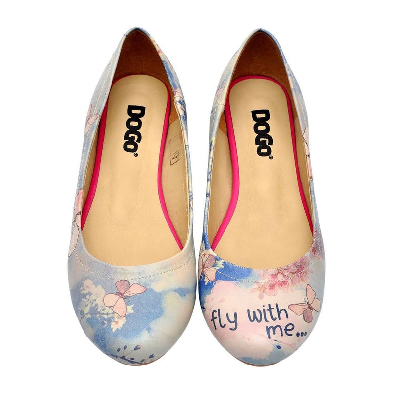 Fly With Me Women's Ballet Flats Shoes image2