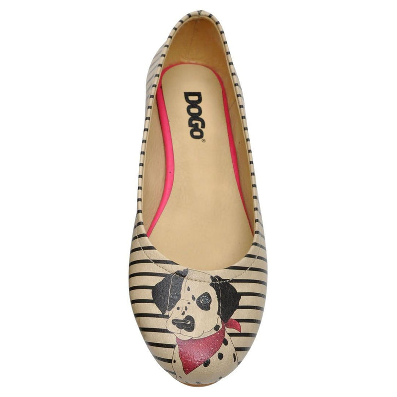 Dalmatian Women's Ballet Flats Shoes image5