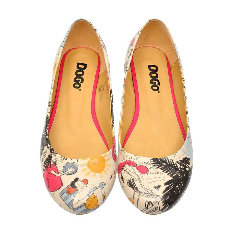 I Love Summer Women's Ballet Flats Shoes image2