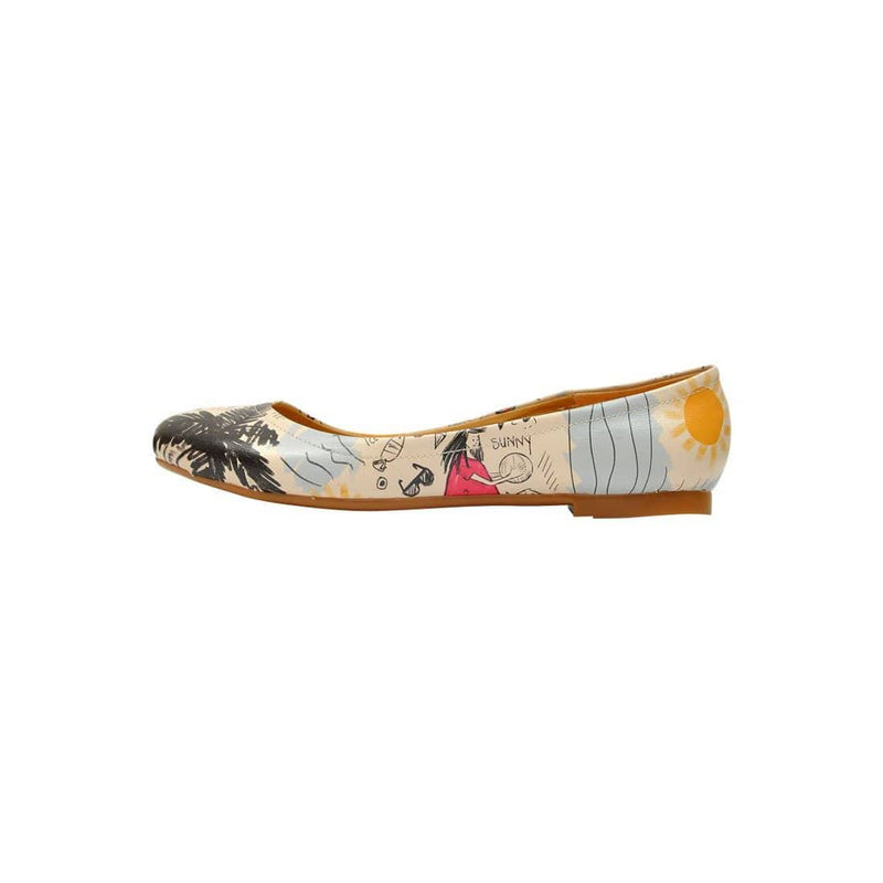 I Love Summer Women's Ballet Flats Shoes image3