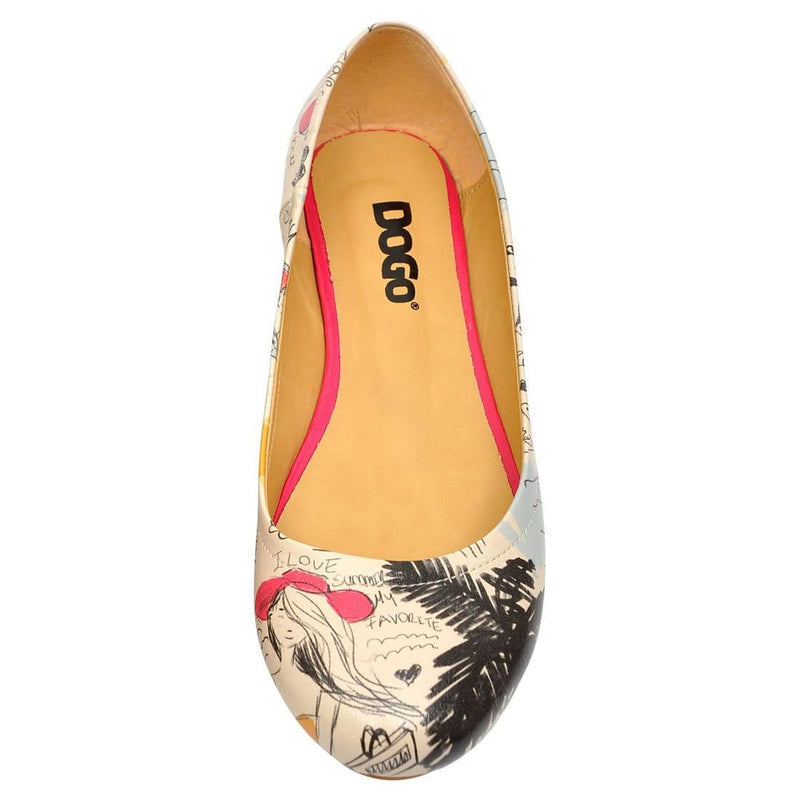 I Love Summer Women's Ballet Flats Shoes image5