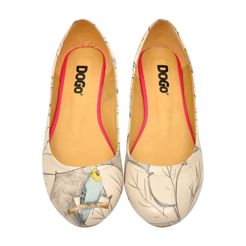 Budgies Are Cool Women's Ballet Flats Shoes image2