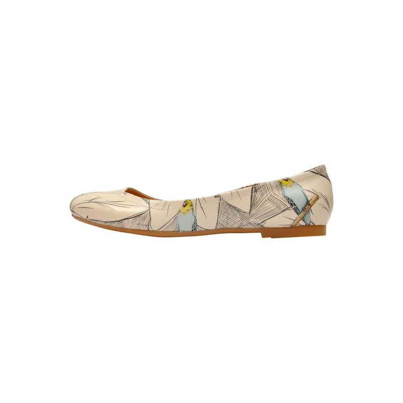 Budgies Are Cool Women's Ballet Flats Shoes image3
